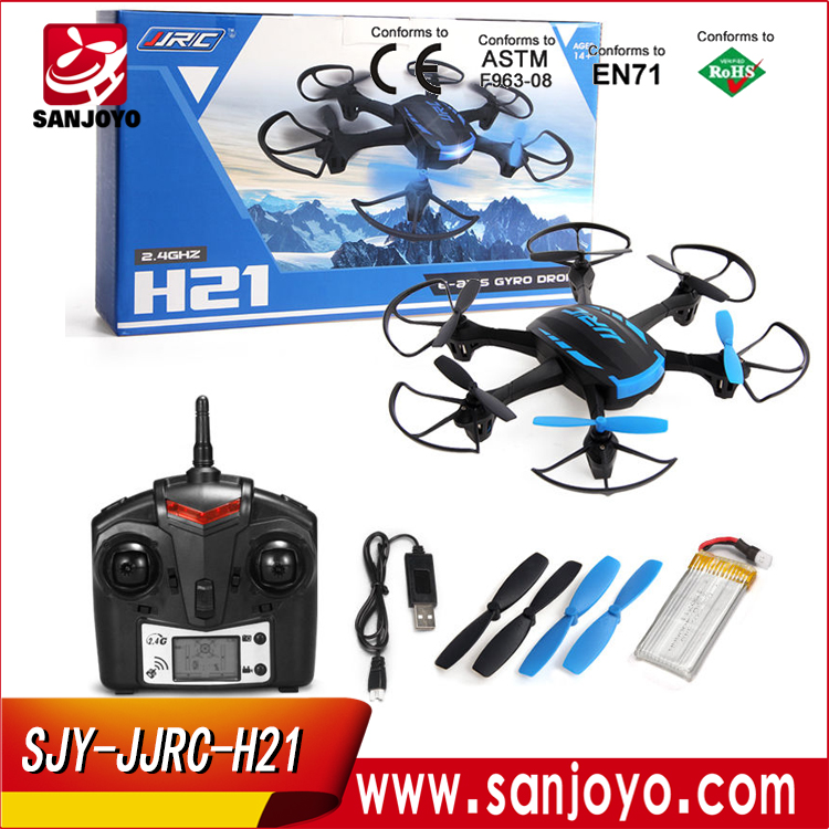 Cheap Rc Hexacopter JJRC Drone H21 Mini Dron With Lcd monitor Remote Control Toys