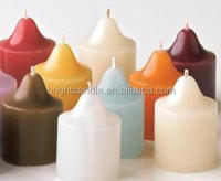 use of raw material coconut votive candle