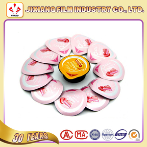 Cup Lidding/Sealing Film For Yogurt jelly Beverage jam cosmetics Packaging