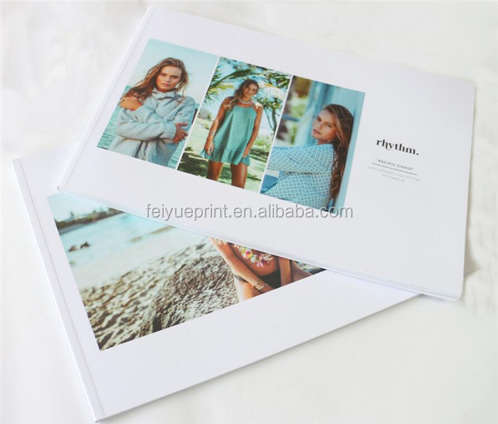 Full colors well designed custom book printing with low cost