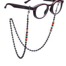 Latest style sunglasses neck strap glasses holder retainer eyewear lanyard necklace cord beads eyeglass chain for women kid