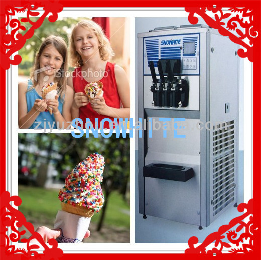 Soft ice cream machine /Frozen yogurt machine240(CE)240(ETL) soft ice cream moshi machine