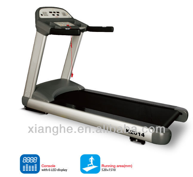 2014 new design Professional Commercial Treadmill AC 3HP motor K2014