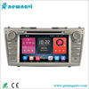 2 din car stereo android car dvd player with reversing camera support 4g&wifi for Toyota Camry 2007-2011