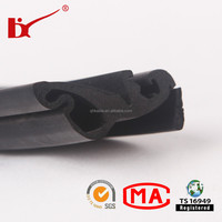 TS 16949 certification epdm window extrusion solid rubber