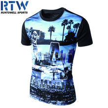 Man original printing sublimation T-shirt
