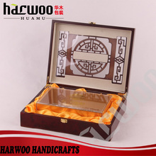 Antique wooden craft packaging box for gift