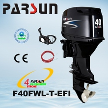 F40FWL 40hp 4-stroke / remote control /electric start /long shaft outboard motor
