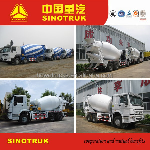 HOWO 8X4 12 WHEEL CONCRETE 8m3 9m3 10m3 12m3 MIXER TRUCK HOT SALE IN Vietnam