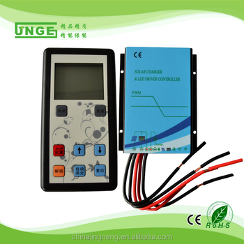 20a solar charge controller High quality Waterproof controller instructions