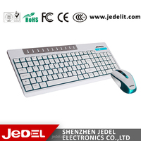high quality chocolate colored wireless keyboard and mouse combo