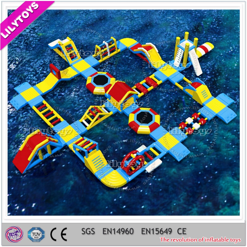 Good quality cheap inflatable aqua park
