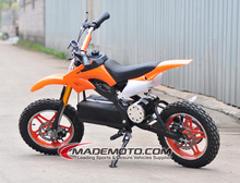 china made factory price electric dirt bike, 800w dirt bike, 500w pit bike