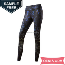 OEM/ODM Womens Fitness Leggings Compression Tights Long Pants