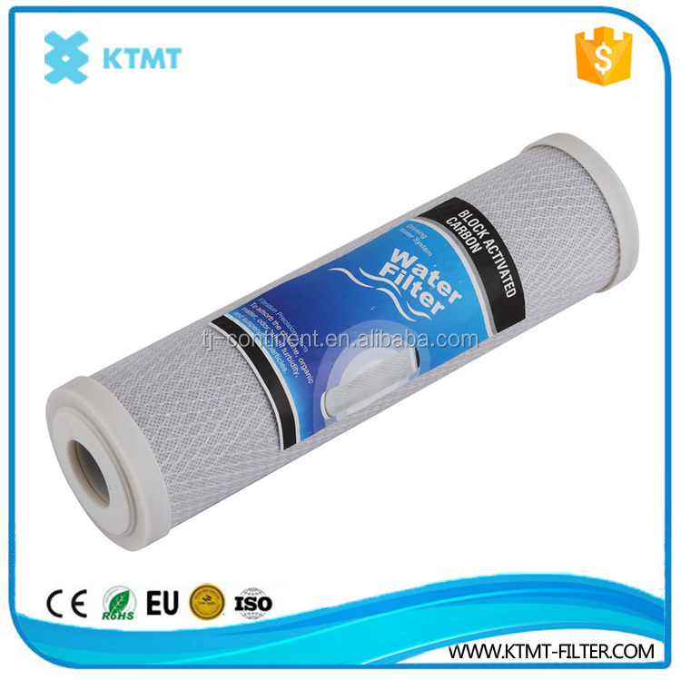Carbon Block Water Filter Cartridge Activated Carbon