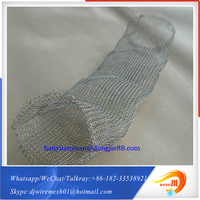 With strong overseas support Applied for air filter Chain Mail knitted Wire Mesh