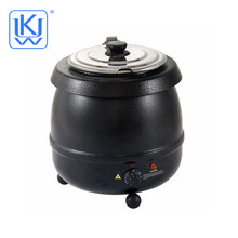 Economy Stainless Steel Electric Soup Heating Pot