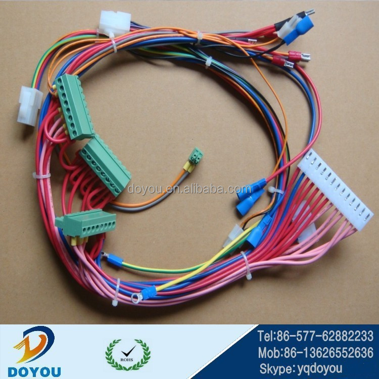 China made custom blower Renault automotive wiring harness