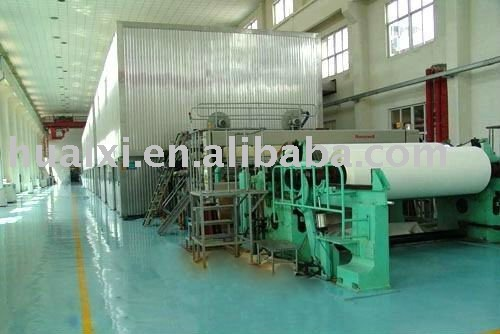 1092type single cylinder double wire paper machine