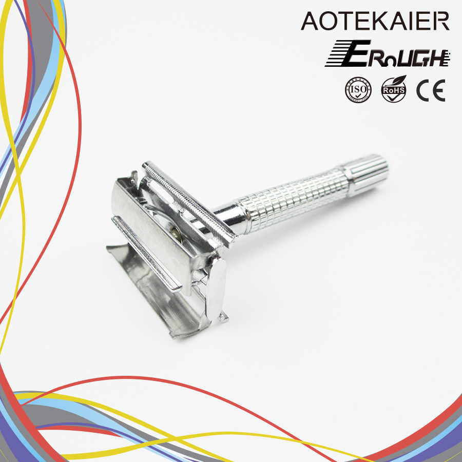 stainless steel double edge razor butterfly razor/butterfly safety razor