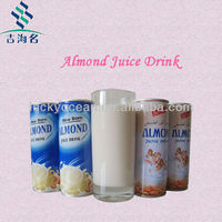 can packed almond drinks