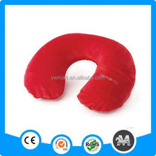 Stocking PVC flocked red big inflatable pillow