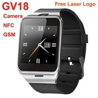 2015 new product GSM Android NFC simvalley watch phone quad band
