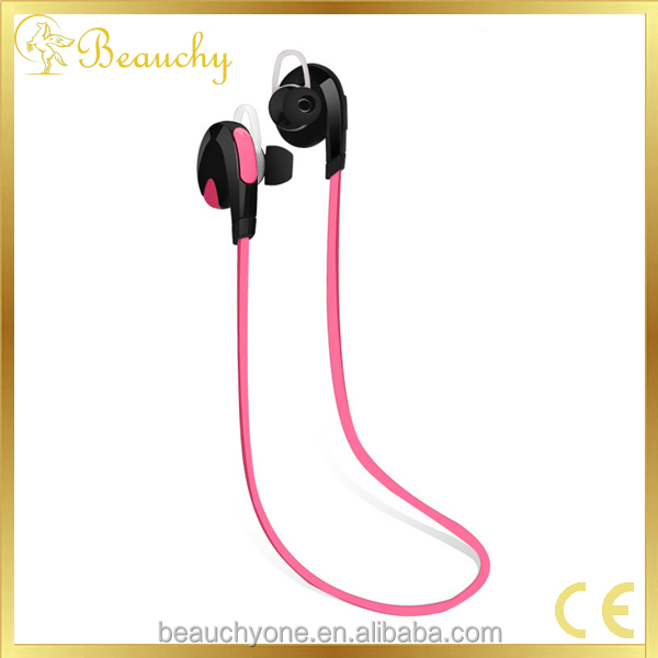 2016 Beauchy kim new product good quality wireless bluetooth earphone, Avtive sport, factory price noodle earbuds