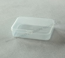 Small Foldable Clear Plastic Storage Boxes for Medicine Storage and Gadgets