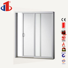 Latest Design Whosale Sliding 3 panel french doors with Gear Rack Cheap Sliding Door Cabinet design