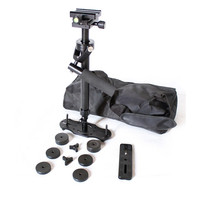 Photo Studio Accessories S40 40cm Aluminum alloy Handheld Stabilizer for Camcorder Camera Video DV DSLR Steadycam Steadicam