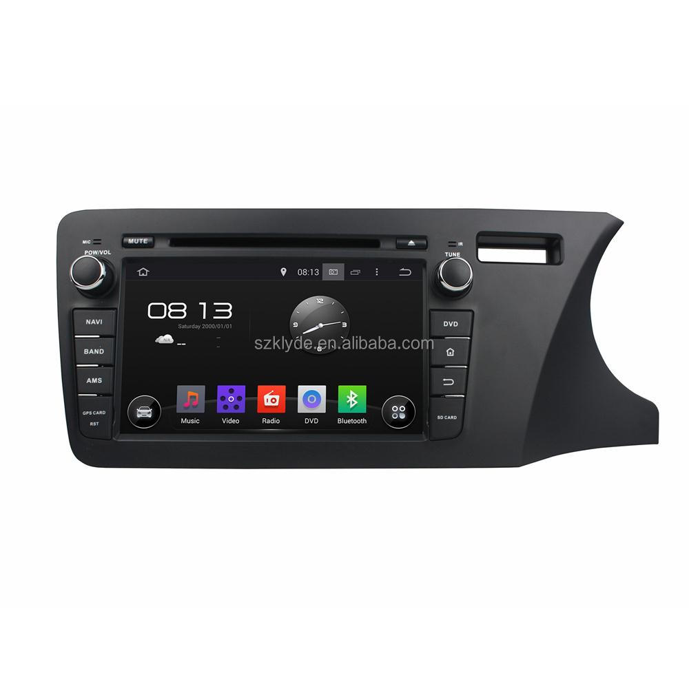 Pure Android 5.1 system Car Audio System For Honda City 2014 Nivigation