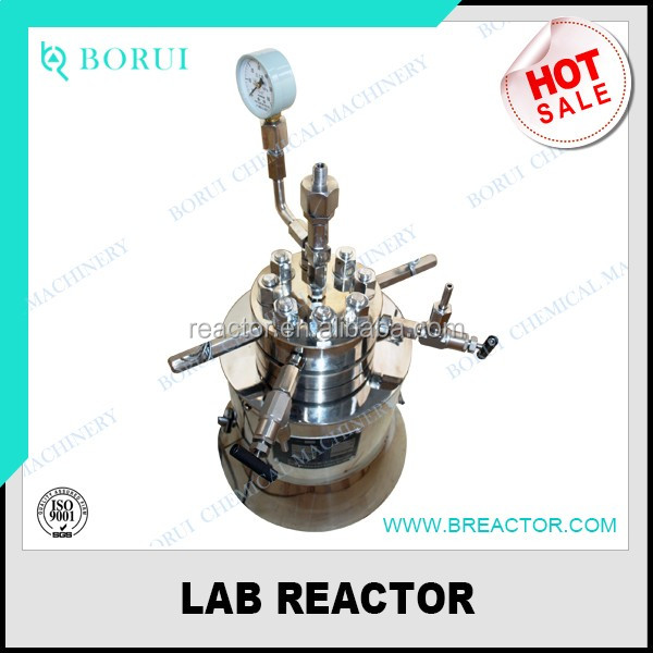2L reactor, chemical reactor, polymerization reactor manufacturer
