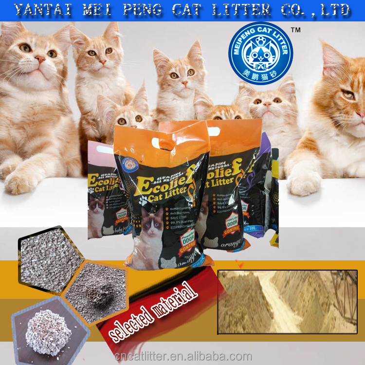 top one high quality best selling bentonite dust free cats product