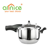 China factory directly Prestige Deluxe Stainless Steel Pressure Cooker with stronger lugs and thick base