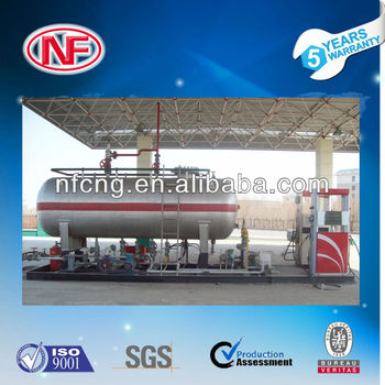 Skid LPG Filling Station