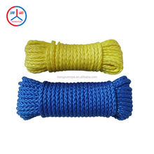 Hollow braid polypropylene rope Yellow Rope