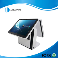 15 inch Dual Screen All in One Retail Touch POS System