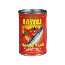 Special Offer 2015 New Canned mackerel Fish In Brine and Tomato Sauce