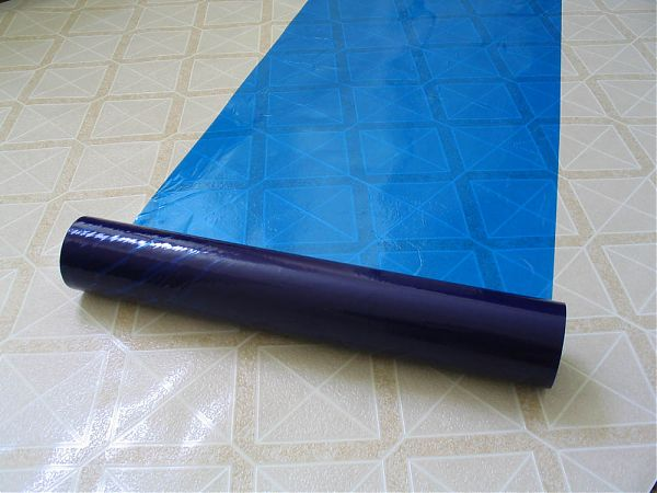 Blue Hard Floor Protection Film With Good Adhension