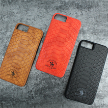 Alibaba express hot sale crocodile leather pc phone case for apple iphone 7