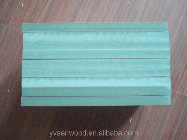 High moisture resistant mdf board green