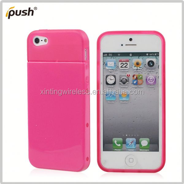 In stock with cheap price cell phone case pc tpu combo for iphone5 tpu pc bumper case for iphone5