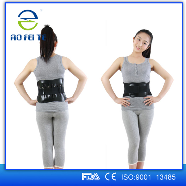 New Products Cefda Approved Adjustable Ventilated Medical Back Lumbar Support/waist Band Support