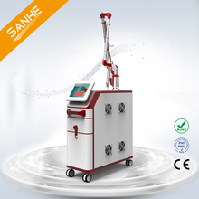 Factory price 1064 nm 532nm nd yag laser for tattoo removal&birthmark&nail fungus&black doll