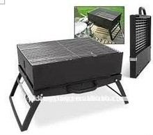 Portable folding charcoal bbq grill large capacity stovetop smokers