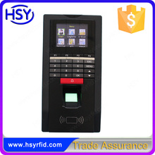 Online Setting Fingerprint Electronic Time Attendance Recorder