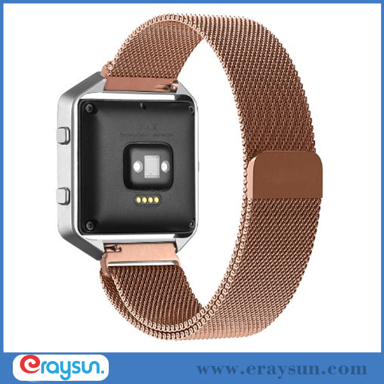 Milanese Magnetic LUXE Bands Loops For FITBIT BLAZE Fitness Watch