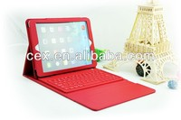 FOR IPAD AIR Bluetooth Keyboard Leather Cover Case VARIOUS COLORS
