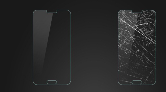New Arrival 9h tempered glass screen protector for HTC desire 630 with factory price